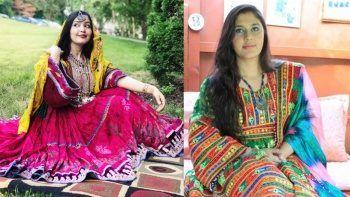 Afgan kadınlardan geleneksel kıyafetlerle protesto: Kıyafetime dokunma