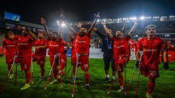 Ampute Futbol Milli Takımı'nın Kaptanı Rahmi Özcan TGRT Haber'e konuştu: Bir alacağımız daha var