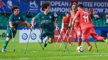 Ampute Milli Futbol Takımı, Avrupa Şampiyonası'nda çeyrek finale yükseldi