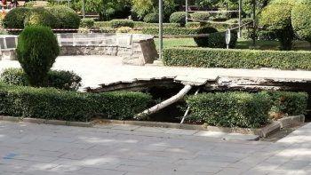 Ankara Güvenpark'ta 10 metrelik göçük: Sebebi metro çalışması