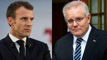 Avustralya Başbakanı Morrison denizaltı krizini Macron'la görüşmeyecek