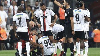 Beşiktaş'a çifte şok! Dortmund maçında forma giyemeyecekler