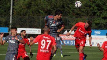 Beşiktaş, hazırlık maçında Ümraniyespor'u 4-0 mağlup etti