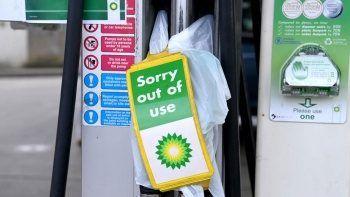 BP istasyonlarının 3'te 1'inde yakıt tükendi