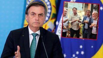 Brezilya Devlet Başkanı pizzacıya alınmadı sokakta yemek yedi