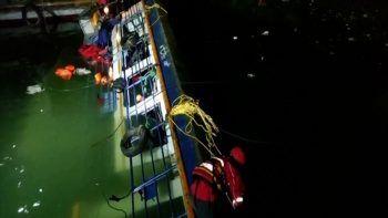 Çin'de yolcu gemisi alabora oldu: 9 ölü 6 kayıp
