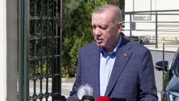 Cumhurbaşkanı Erdoğan'dan ABD'ye tepki