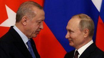 Cumhurbaşkanı Erdoğan ve Vladimir Putin'in görüşmesi sona erdi