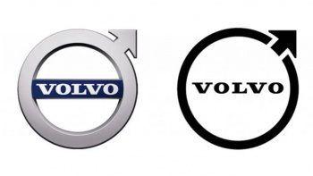 Dev otomotiv markası logosunu değiştirdi: İşte Volvo'nun yeni logosu