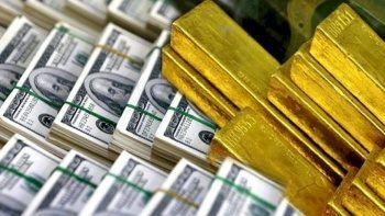 Döviz rezervleri 91 milyon dolar artıda