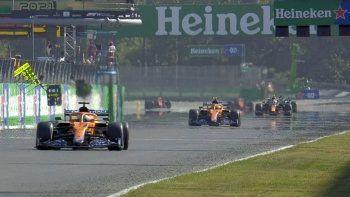 Formula 1'de İtalya GP'sini Daniel Ricciardo kazandı