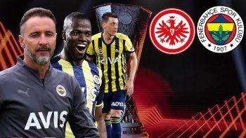 Frankfurt-Fenerbahçe | UEFA Avrupa Ligi | CANLI ANLATIM