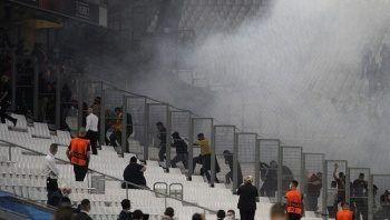 Fransız polisinden Galatasaray taraftarına saldırı!