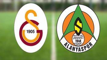 Galatasaray Alanyaspor maçı kaç kaç bitti?