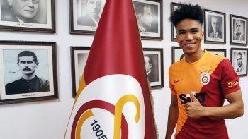 Galatasaray'ın yeni transferi Gustavo Assunçao İstanbul'da