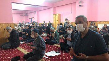 Giresunlu vatandaşlardan fındıkların kuruması için 'güneş duası'