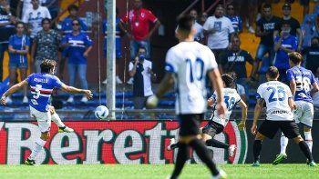 Hakan Çalhanoğlu'lu Inter, Sampdoria engeline takıldı