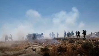 İsrail güçleri Filistinlileri gaza boğdu: 46 yaralı