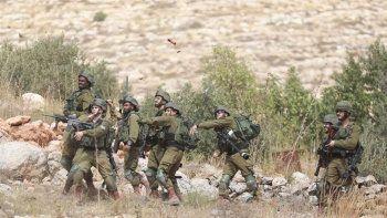 İsrail güçleri Batı Şeria'da 12 Filistinliyi yaraladı
