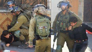 İsrail polisinden insanlık dışı muamele: Çocuğu darp edip gözaltına aldılar