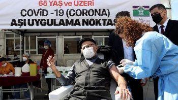 İstanbul'da 65 yaş üstü aşılama oranı yüzde 91,2'ye çıktı