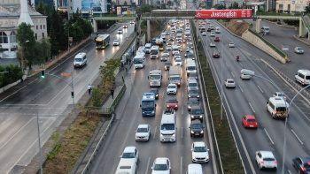 İstanbul'da trafik yüzde 71'e yükseldi