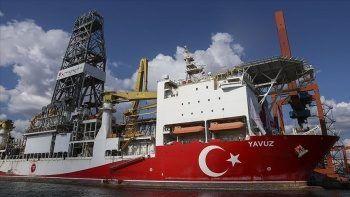 Karadeniz doğalgazı için hazırlıklar tamam: Yavuz Sondaj Gemisi ilk görevine çıkıyor