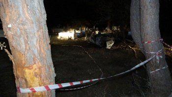 Kaza yapan araç mezarlığa uçtu! Sürücü yanarak can verdi