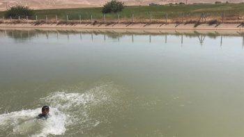 Koyun otlatırken sulama kanalına düşen çocuktan acı haber