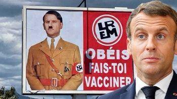Macron'un Hitler'e benzetmesine para cezası