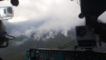 Manavgat ormanlarını bu kez de yıldırım yaktı