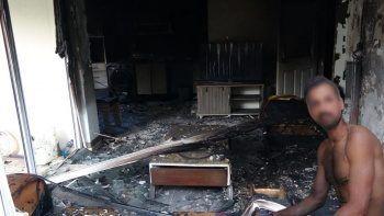 Manavgat'ta suçüstü yakalanan orman yangını şüphelisi suç makinesi çıktı