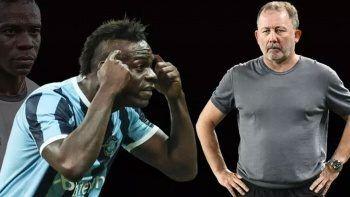 Mario Balotelli Sergen Yalçın'a hareketi anlattı
