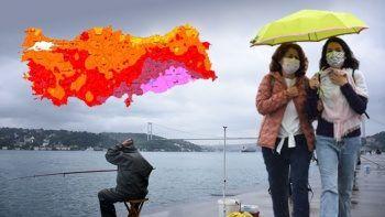 Meteoroloji bölge bölge uyardı: Kuvvetli sağanak geliyor