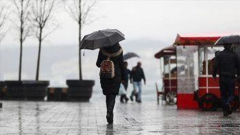 Meteoroloji il il uyardı: Gök gürültülü sağanak yağış geliyor