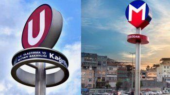 Metroda simge polemiği: Bakanlık değişecek dedi, İBB karşı çıktı