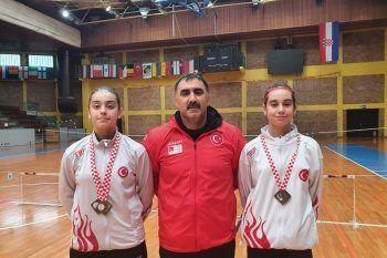 Milli sporcular Hırvatistan'dan iki altın madalyayla döndü