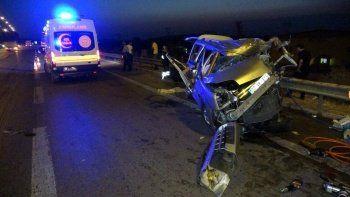Osmaniye'de feci kaza: 2 ölü, 2'si ağır 5 yaralı