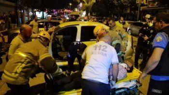 Polisten kaçıp dehşet saçtı: Acile gelip yaralıları kontrol etti
