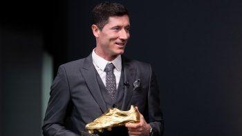Robert Lewandowski, Altın Ayakkabı ödülüne kavuştu