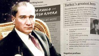 Rum Eğitim Bakanlığı'ndan skandal genelge: Atatürk sayfasını yırtın