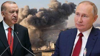 Rus uçakları zirve öncesi yine muhalifleri vurdu