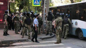 Rusya 45 Kırım vatandaşını gözaltına aldı