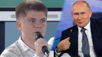 Rusya bu çocuğu konuşuyor: Putin'in tarih hatasını yüzüne vurdu