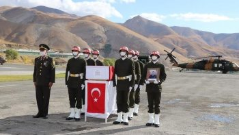 Şehit Faruk Eser için tören düzenlendi