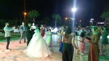 Sokak hayvanlarını sevindiren düğün davetiyesi