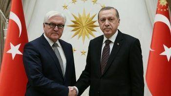 Son dakika! Cumhurbaşkanı Erdoğan Alman mevkidaşı ile telefonda görüştü