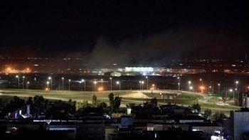 Son dakika! Erbil Havaalanı'na 3 roket düştü