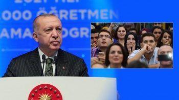 Cumhurbaşkanı Erdoğan müjdeyi verdi: 15 bin öğretmen atanacak