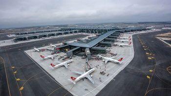 Son dakika: İstanbul Havalimanı 100 milyonuncu yolcuya ev sahipliği yaptı